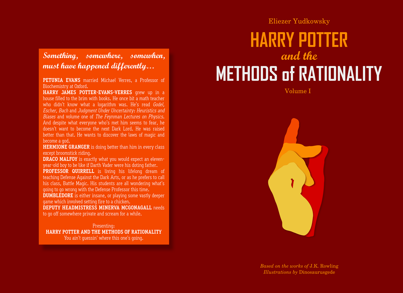 Harry Potter and the Methods of Rationality: Book 1