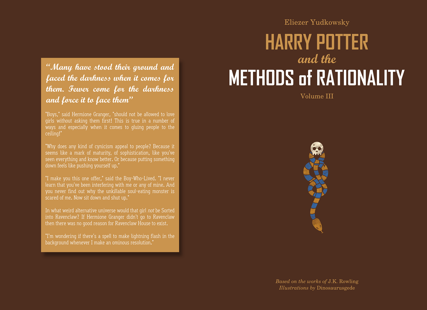 Harry Potter and the Methods of Rationality: Book 3